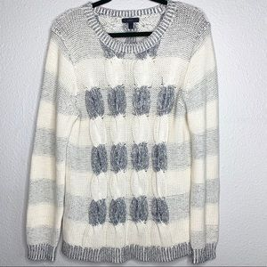 J. Crew chunky cable knit sweater